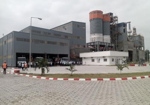 Vue de l'usine